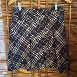 Burberry London Blue Label plaid mini skirt